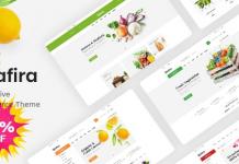 Safira v1.0.5 - Food & Organic WooCommerce WordPress Theme