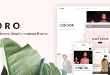 Toro v1.1.5 - Clean, Minimal WooCommerce Theme