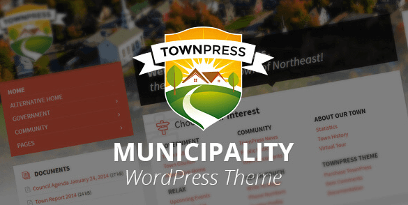 TownPress v3.6.1 - Municipality WordPress Theme