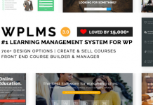 WPLMS Learning Management System for WordPress, Education Theme v4.090