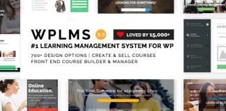 WPLMS Learning Management System for WordPress, Education Theme v4.090