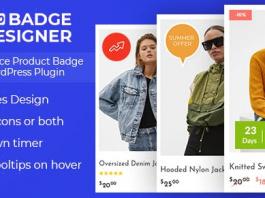 Woo Badge Designer v3.0.0 - WooCommerce Product Badge Designer WordPress Plugin