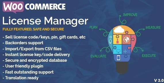 WooCommerce License Manager v4.2.8 Nulled