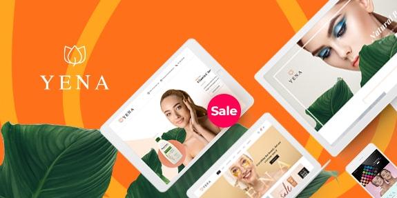 Yena v1.0.8 - Beauty & Cosmetic WooCommerce Theme