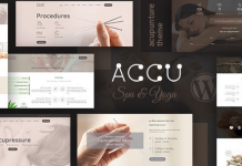 Accu v2.4 - Healthcare, Massage WordPress Theme