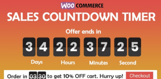 Checkout Countdown v1.0.1.1 - Sales Countdown Timer for WooCommerce and WordPress