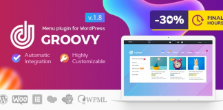 Groovy Mega Menu v2.3.9 - Responsive Mega Menu Plugin for WordPress Nulled