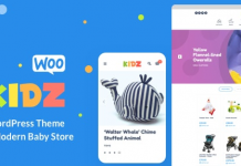 KIDZ v3.1 - Baby Shop & Kids Store WordPress WooCommerce Theme