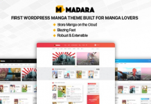 Madara v1.6.4.5 - WordPress Theme for Manga
