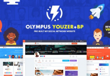Olympus v3.9.1 - Powerful BuddyPress Theme for Social Networking