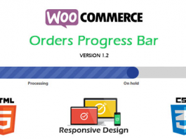 WooCommerce Orders Progress Bar Pro v2.0.1