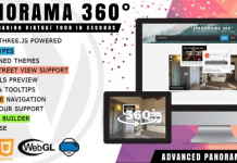 iPanorama 360° v1.6.5 - Virtual Tour Builder for WordPress