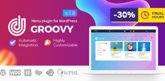 Groovy Mega Menu v2.4.0 - Responsive Mega Menu Plugin for WordPress