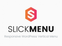 Slick Menu v1.2.9 - Responsive WordPress Vertical Menu Nulled