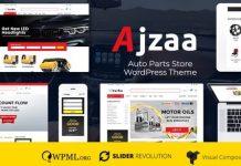 Ajzaa v2.8 - Auto Parts Store WordPress Theme