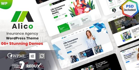 Alico v1.0.6 - Insurance WordPress Theme