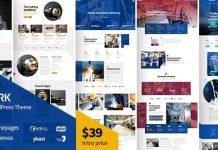 Amwerk v1.0.1 - Industry WordPress Theme