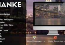 Ananke v3.8.6.1 - One Page Parallax WordPress Theme