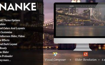 Ananke v3.8.6.1 - One Page Parallax WordPress Theme