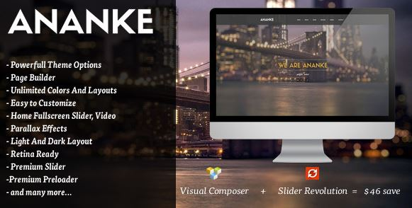Ananke v3.6.6 - One Page Parallax WordPress Theme
