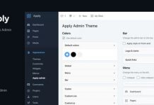 Apply v1.0.0 - WordPress Admin Theme