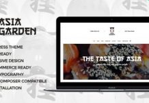 Asia Garden v1.2.1 | Asian Food Restaurant WordPress Theme