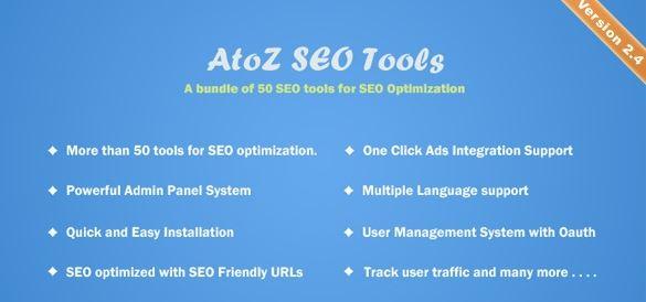 AtoZ SEO Tools v2.9 - Search Engine Optimization Tools