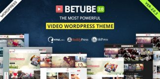 Betube Video WordPress Theme v3.0.4
