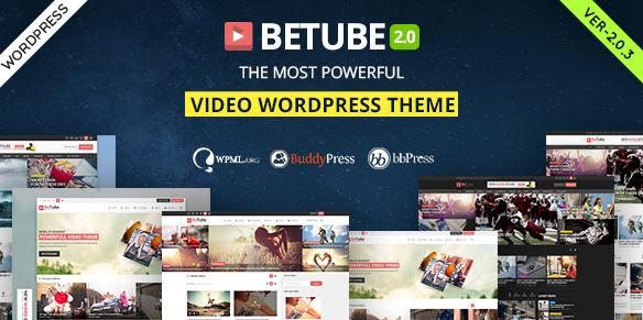Betube Video WordPress Theme v3.0.4