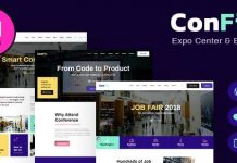 ConFix v1.0.2 - Expo & Events WordPress Theme