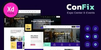 ConFix v1.0.2 - Expo & Events WordPress Theme