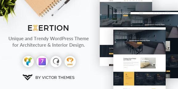 Exertion v1.3 - Architecture & Interior Design WordPress Theme