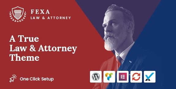 Fexa v1.2 - Lawyer & Attorney WordPress Theme