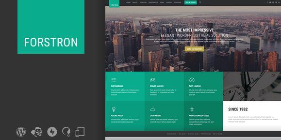 Forstron v1.9.5 - Legal Business WordPress Theme