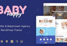 Happy Baby v1.2.2 | Nanny & Babysitting Services WordPress Theme