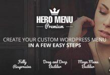 Hero Menu v1.15.1 - Responsive WordPress Mega Menu Plugin