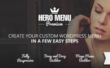 Hero Menu v1.15.1 - Responsive WordPress Mega Menu Plugin
