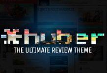 Huber v2.28.2 - Multi-Purpose Review Theme