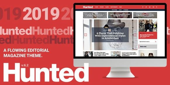 Hunted v8.0 - A Flowing Editorial Magazine Theme