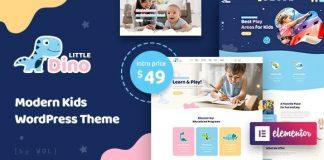 Littledino v1.1.7 - Modern Kids WordPress Theme