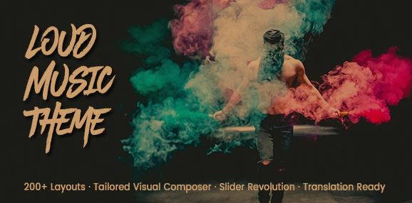 Loud v2.0.5 - A Modern WordPress Theme for the Music Industry