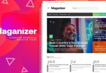 Maganizer v1.0 - Modern Magazine WordPress Theme