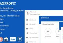 Max Profit v4.1 - Online Multipurpose Investment Platform Nulled