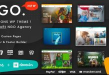 Ngo v1.1 - Charity & Donation WordPress Theme