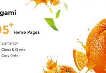 Ogami v1.28 - Organic Store & Bakery WordPress Theme