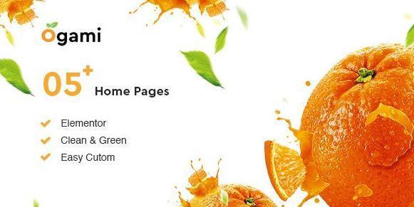Ogami v1.28 - Organic Store & Bakery WordPress Theme