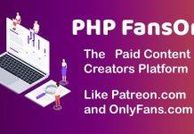 PHP FansOnly Patrons v1.7 - Paid Content Creators Platform