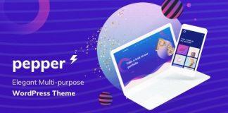 Pepper v1.5 - Elegent Multi Purpose WordPress Theme
