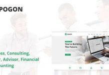 Pogon v1.0.5 - Business and Finance Corporate WordPress Theme
