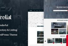 Prolisting v1.30 - Directory Listing WordPress Theme